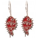 Bedri Rahmi Fish Earring - Red