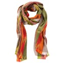 Kutnu Scarf - Rose Green