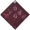 Bedri Rahmi Bed Cover - Purple