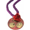 Ottoman Cintemani Medallion Necklace