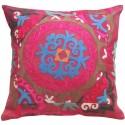 Suzani Fuschsia Pillow Slip