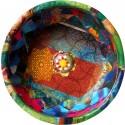Turkish Hamam Bowl Magazine Collage - Jewels and Pirate Ship