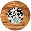 Olive Wood Plates with Tiles 2