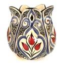 Iznik Tile Trio Tulip Vase