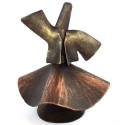 Copper Whirling Dervish