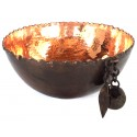 Copper Bowl with Pomegranate