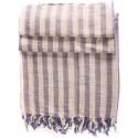 Linen Turkish Towel / Pestemal - Blue Stripe