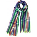 Kutnu Scarf - Pink Striped