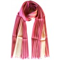 Kutnu Scarf Pink Striped