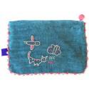 Blue Kutnu Wallet - Efe