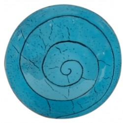Turquoise Enamel Pot - 1