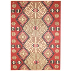 Thousand Roses Kilim - Weaved by Fehime Kurt