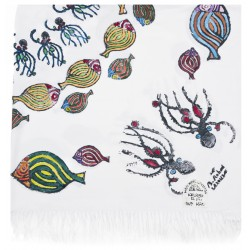 Bedri Rahmi Table Cloth with Octopus Pattern