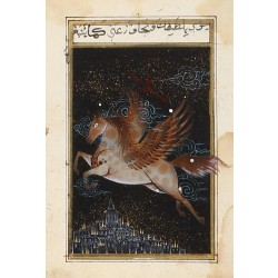Flying Horse Ottoman Miniature