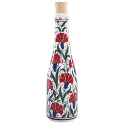 Clove Pattern Ceramic Bottle