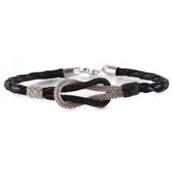 Kazaziye Knot Silver Bracelet 2