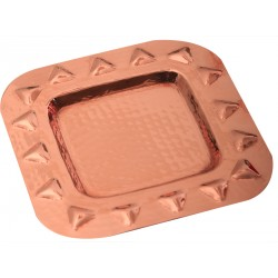 Arinna Copper Square Tray
