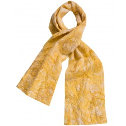 Yellow Felt Scarf