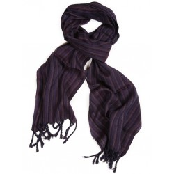 Silk Male Scarf - Purple