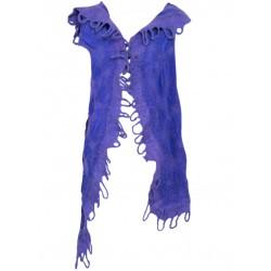 Purple Felt Vest
