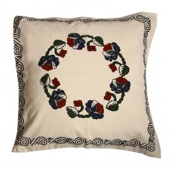 "Elvan Print Pillow Slip with ""Dramanin Gobegi"" Pattern"