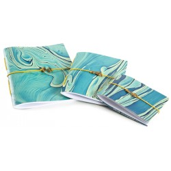 Notebook Set with Marbling Art - 3