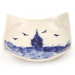 Galata Tower  Print Porcellain Tea Plate - 2