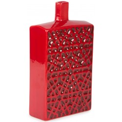 Seljuk Star-transition Patterned Red Bottle
