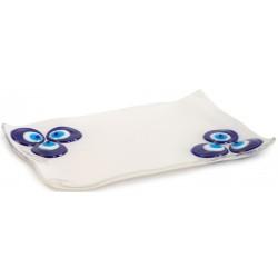 Fusion Glass Plate with Cintemani