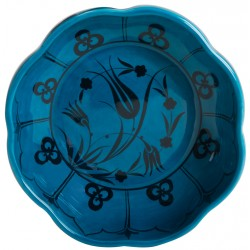 Turquoise Ceramic Bektaşi Bowl