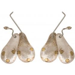 Silver Double Drop Earrings