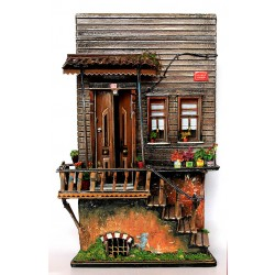Miniature Historical Ottoman House on Ihlamur Hill Istanbul
