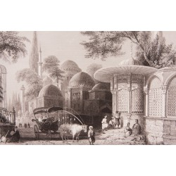 İstanbul Şehzadebaşı Engraving