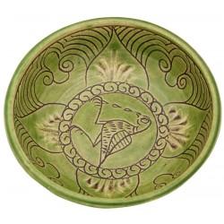 Byzantine Ceramic Bowl with Weeping Bird