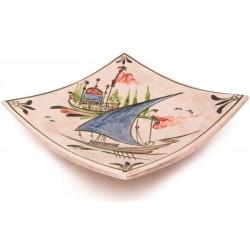 Canakkale Square Plate - Large