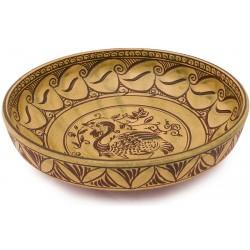 Byzantine Ceramic Plate with Little Bustard