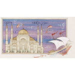 Hagia Sophia and Galley Miniature