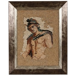 Framed Man Mosaic