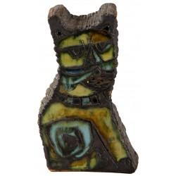 Ceramic Turquoise Cat