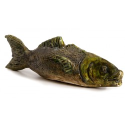 Ceramic Green Fish