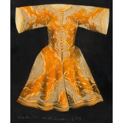 Acrylic Caftan - Orange