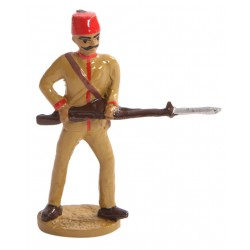 Ottoman Infantry Toy Soldier Figure with Horizontal Rifle