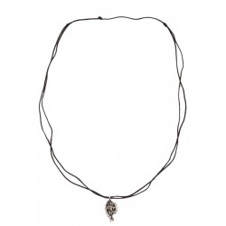 Bedri Rahmi Fish Necklace - Black
