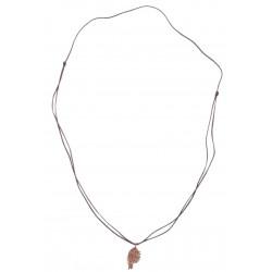 Bedri Rahmi Fish Necklace - Bronze