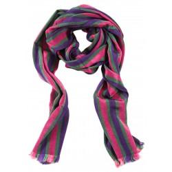 Kutnu Scarf - Purple Pink