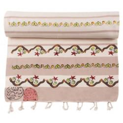 Bedri Rahmi Turkish Hamam Towel / Pestemal with Patterns