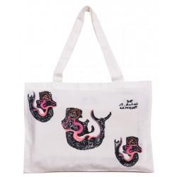 Bedri Rahmi Siren Eftelya Tote Bag