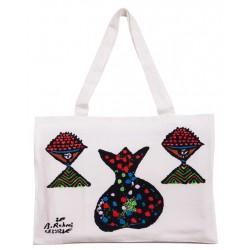 Bedri Rahmi Pomegranate Tote Bag