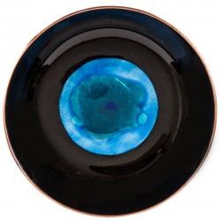 Black Enamel Plate - 1