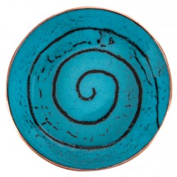 Turquoise Enamel Plate - 3